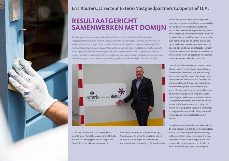 Pioneering Innovatie Magazine 2015